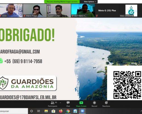 SECRETARIA MUNICIPAL DE MEIO AMBIENTE E TURISMO PARTICIPA DE REUNIÃO ON LINE COM A ANAMMA/RO E SEDAM